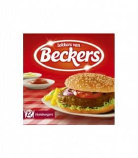 Beckers hamburgers 12x 70 gr