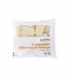 EVERYDAY 12 croquettes au fromage 600 gr