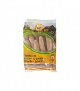 Tupelo farm saucisse de poulet 8 pcs 1 kg - BELFREEZE