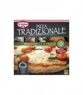 DR OETKER Tradizionale pizza mozzarella et pesto