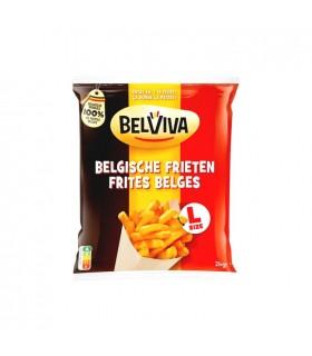 Belviva - Lutosa frites belges taille L 2 kg