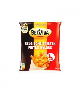 D - Belviva - Lutosa frites belges taille L 1 kg